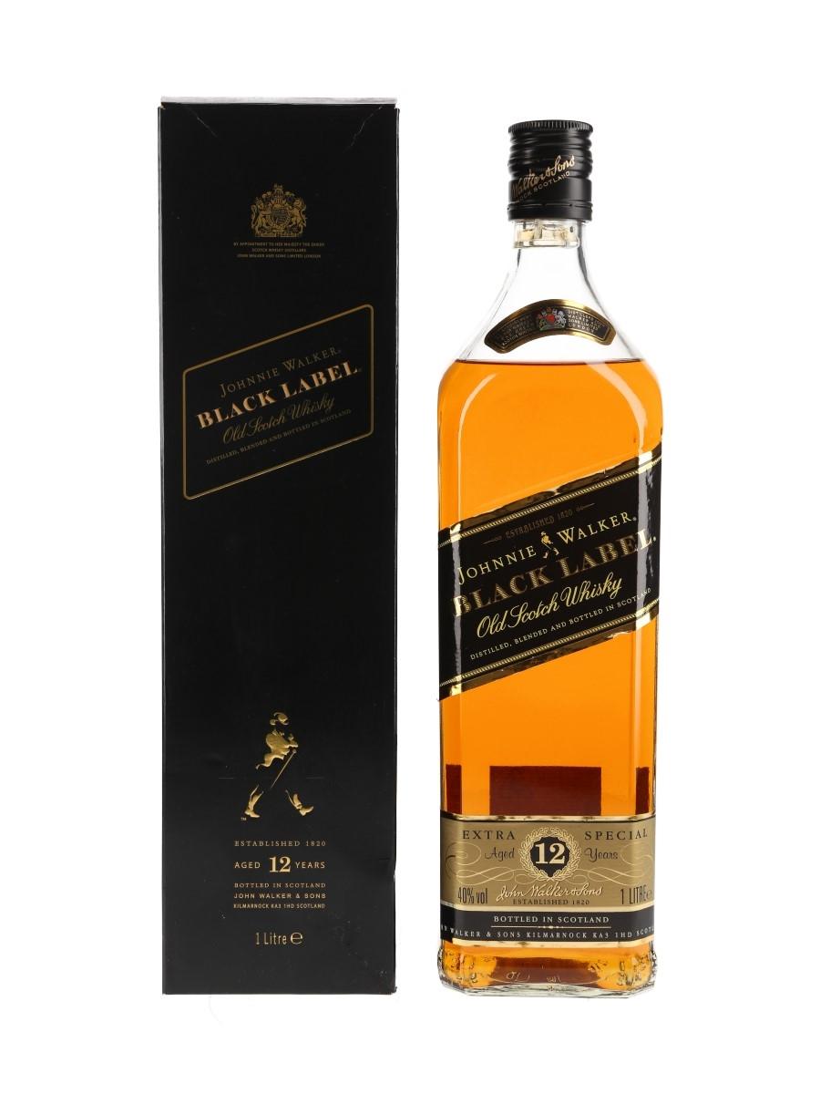 Johnnie Walker Black Label 12 Year Old Bottled 2000s 100cl / 40%