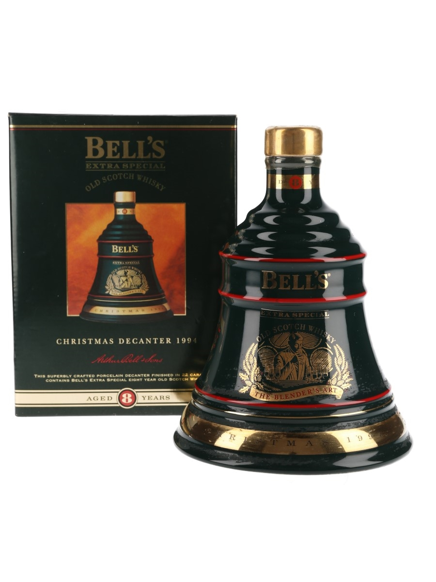 Bell's Christmas 1994 Ceramic Decanter 8 Year Old - The Blender's Art 70cl / 40%