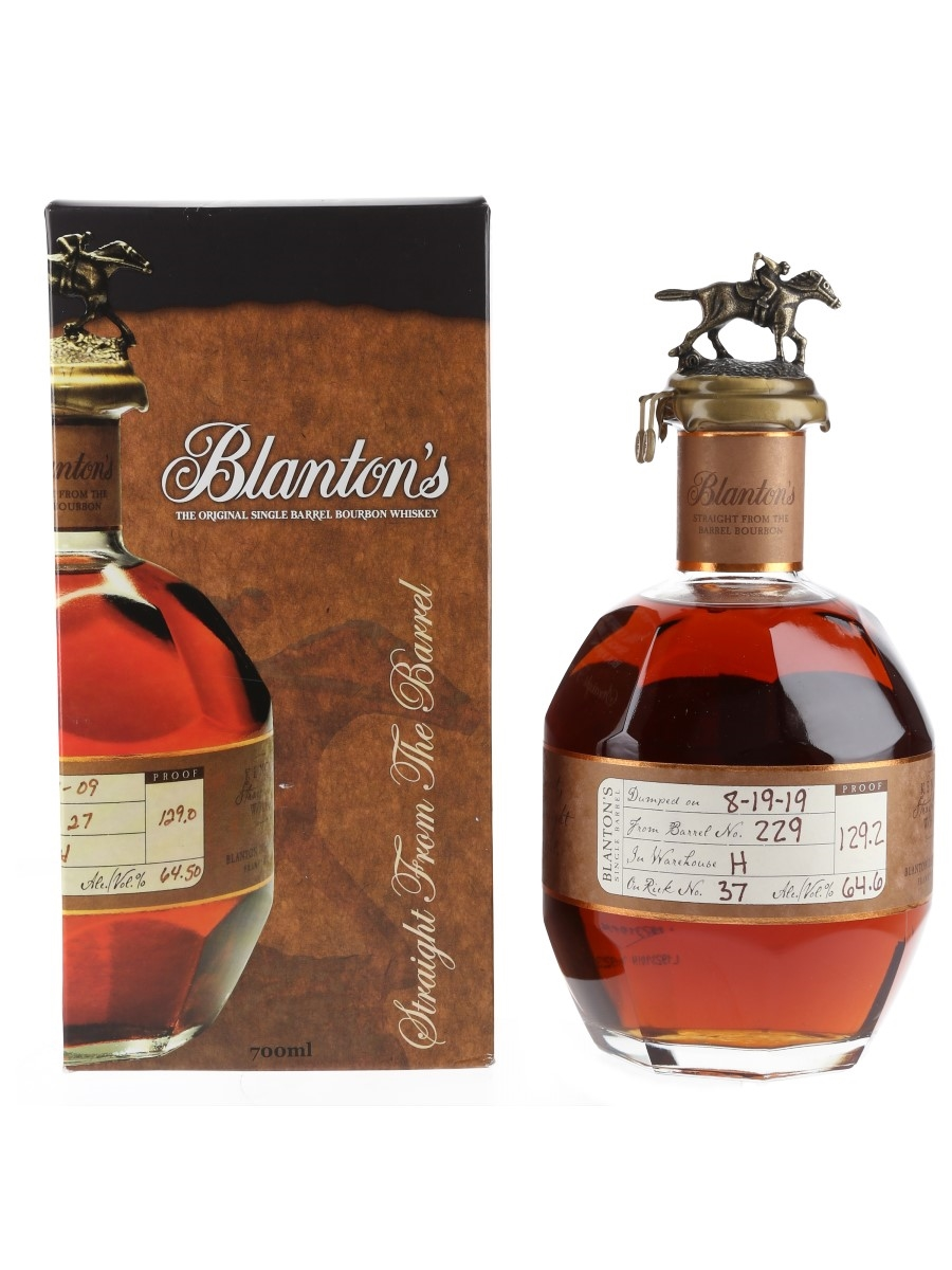 Blanton's Straight From The Barrel No. 229 Bottled 2019 - Greek Import 70cl / 64.6%