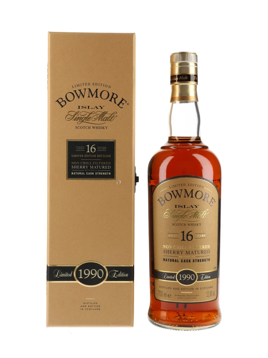 Bowmore 1990 16 Year Old  70cl / 53.8%