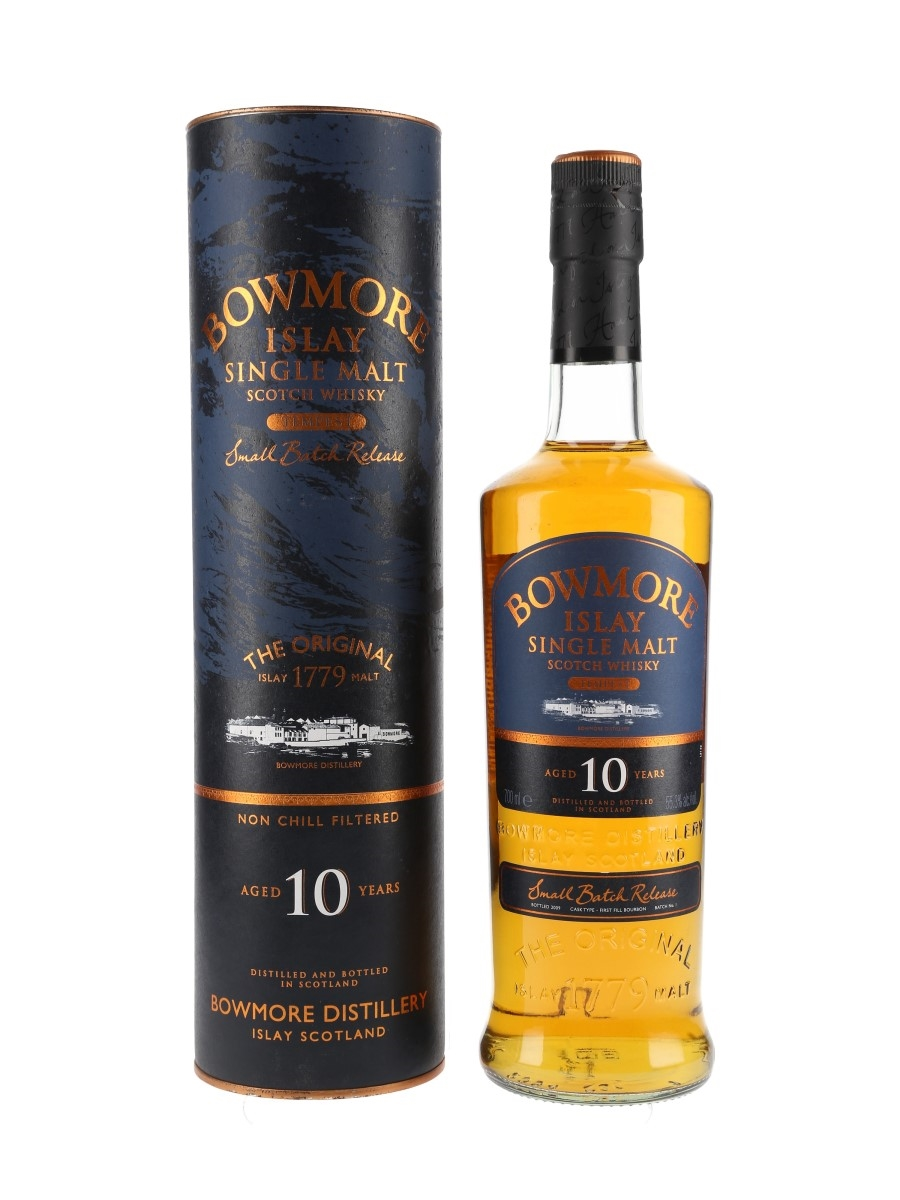 Bowmore Tempest 10 Year Old Bottled 2009 - Batch 1 70cl / 55.3%