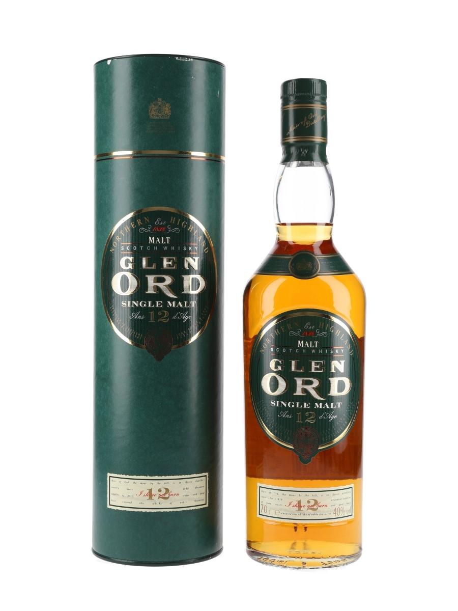 Glen Ord 12 Year Old Bottled 1990s 70cl / 40%