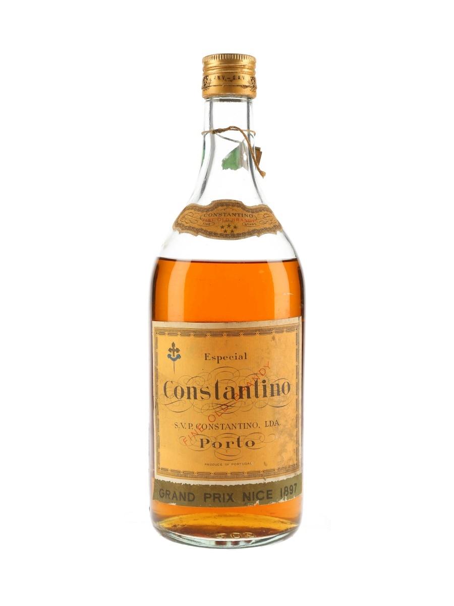 Constantino Porto 5 Star Fine Old Brandy Bottled 1960s 100cl