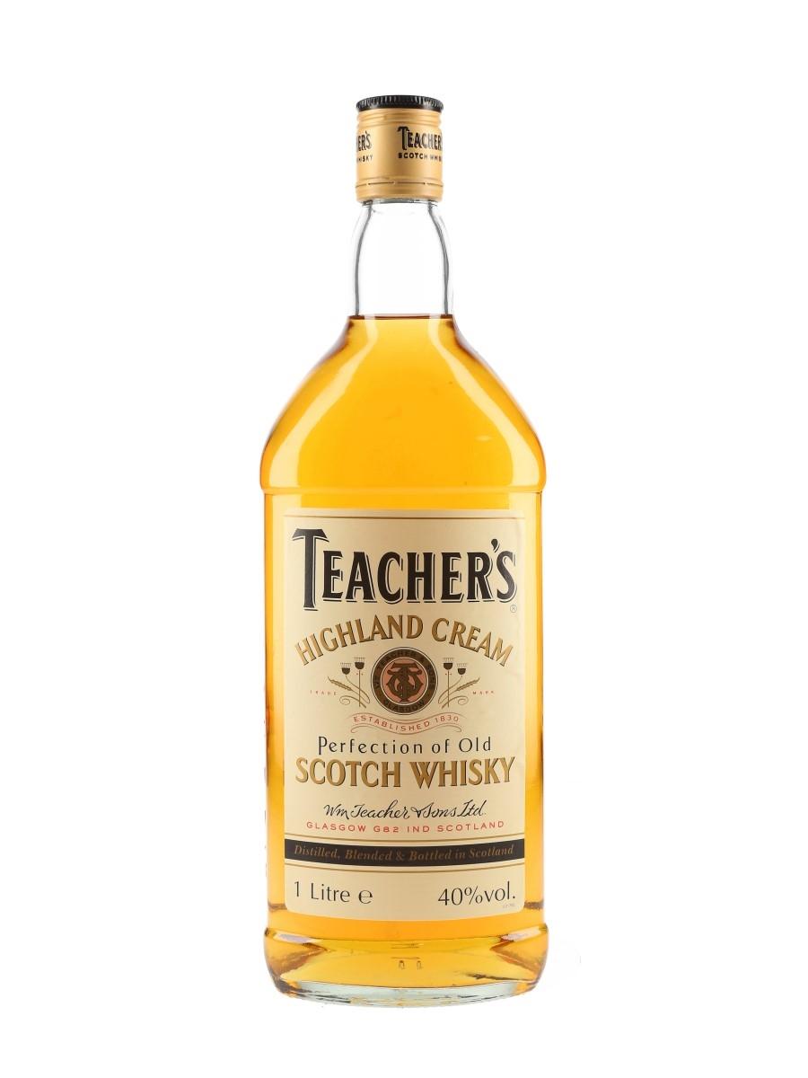 Teacher's Highland Cream Bottled 2000s 100cl / 40%