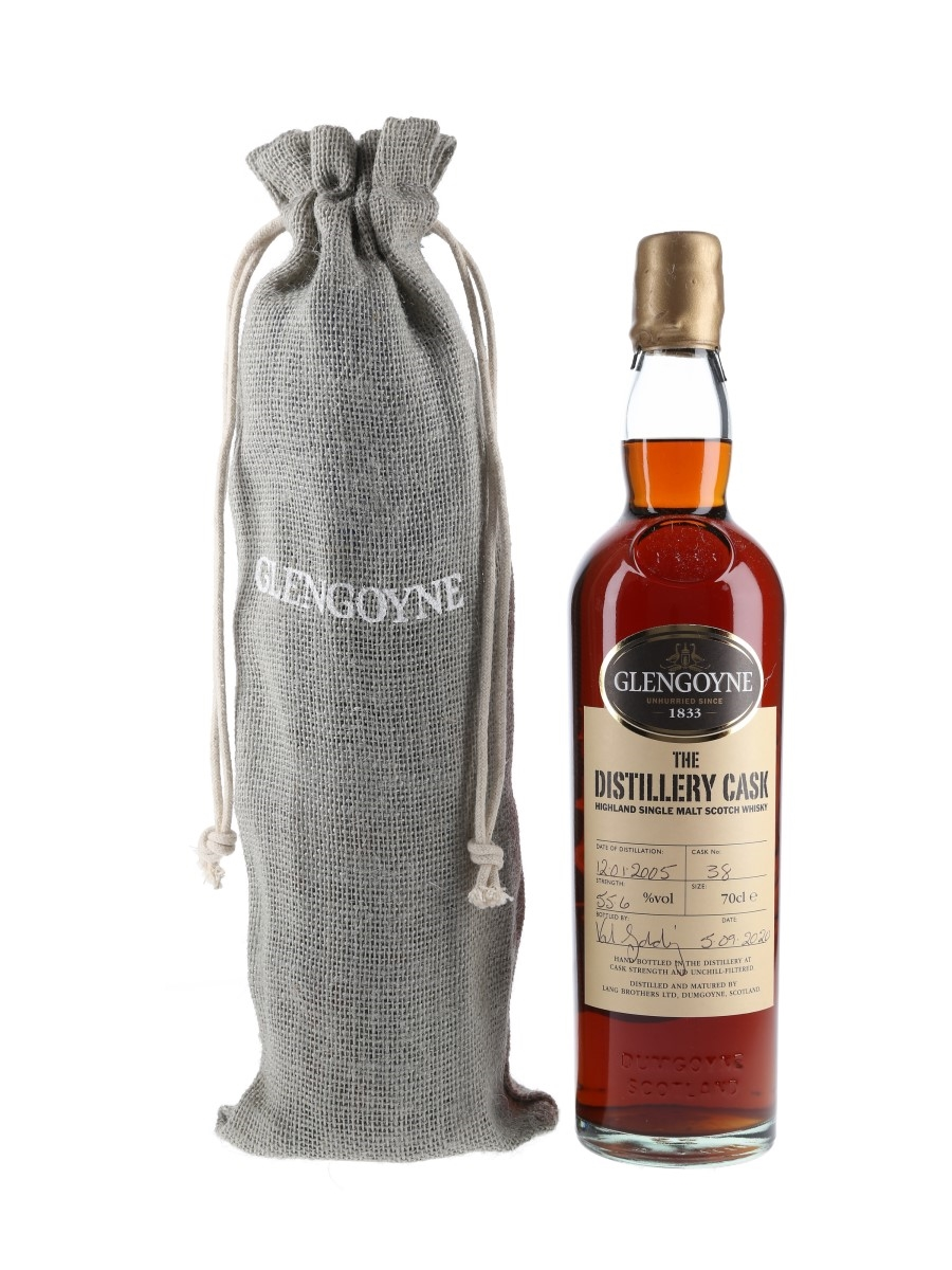 Glengoyne 15 Year Old Distillery Cask Bottling With Jigsaw Puzzle Botted 2020 70cl / 55.6%
