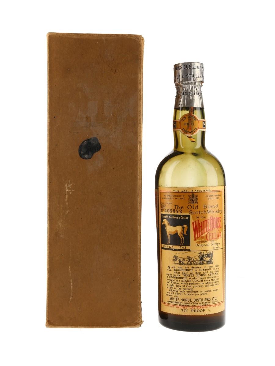 White Horse Bottled 1951 75cl / 40%
