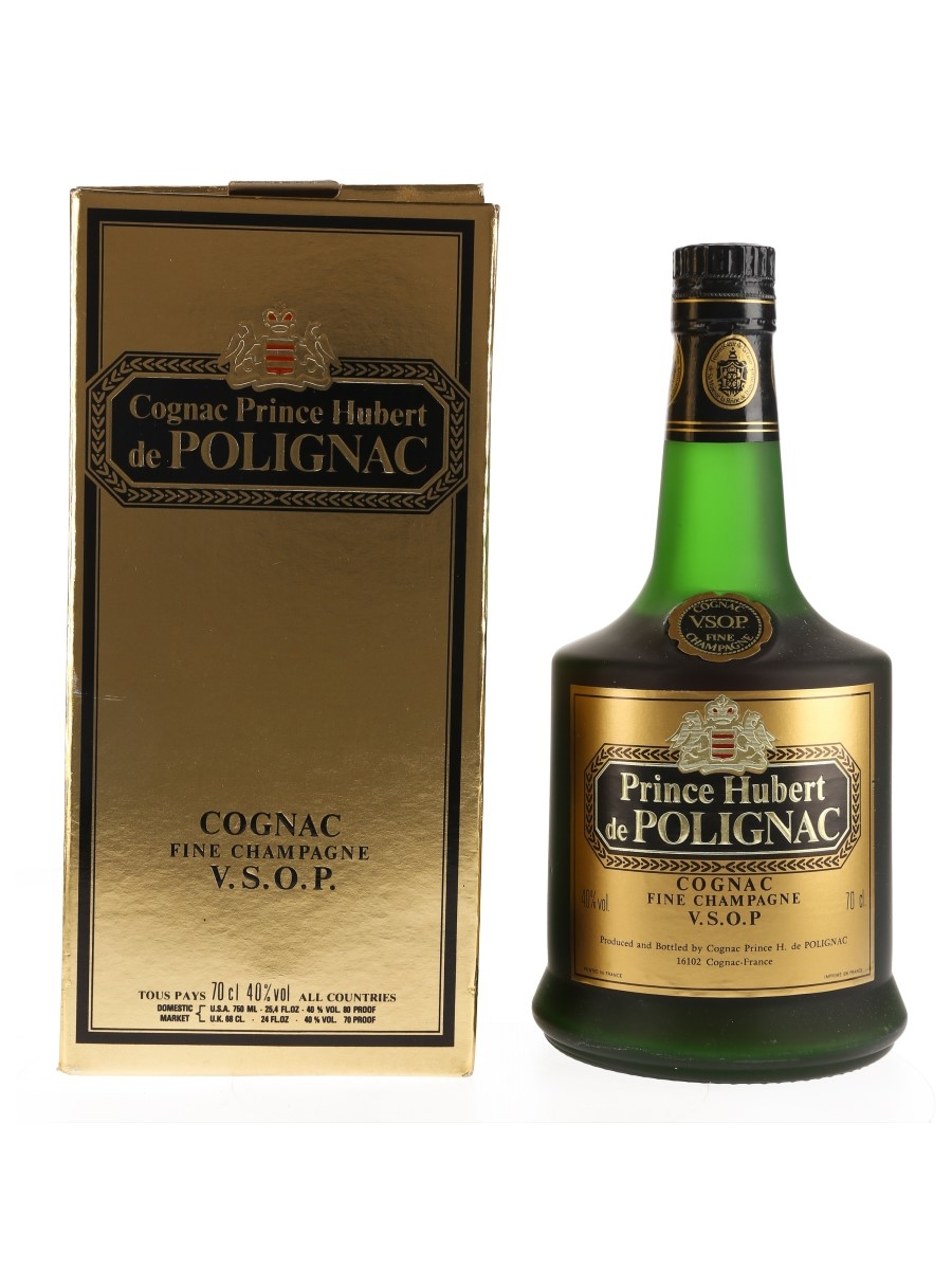Prince Hubert De Polignac VSOP Bottled 1980s 70cl / 40%