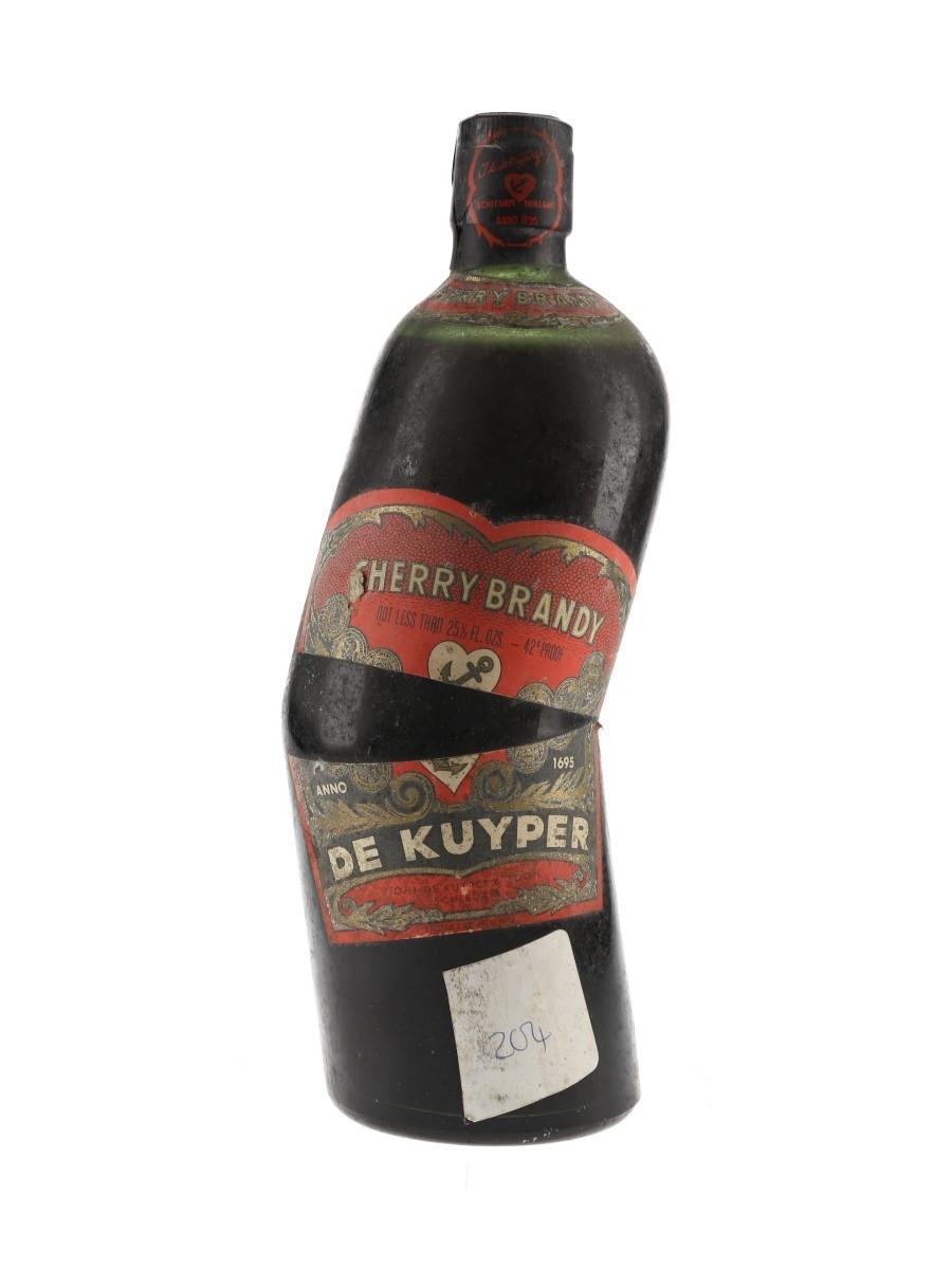 De Kuyper Cherry Brandy Bottled 1970s 72.4cl / 24%