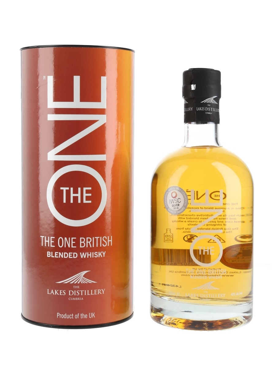 The Lakes The One Blended Whisky  70cl / 40%