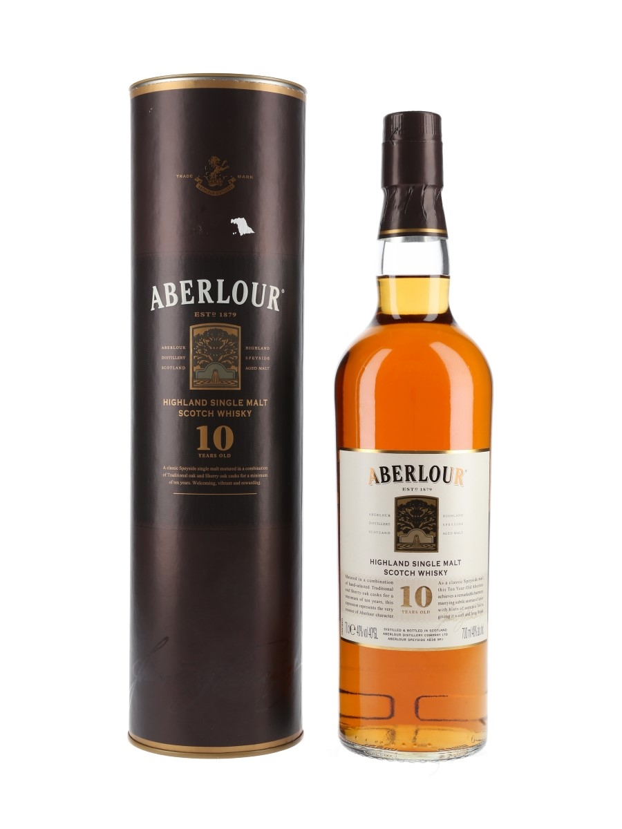 Aberlour 10 Year Old Bottled 2014 70cl / 40%