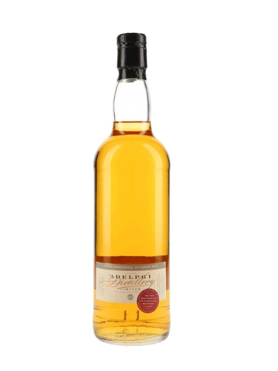 Knockdhu 1978 20 Year Old Cask 1889 Bottled 1998 - Adelphi 70cl / 59.7%