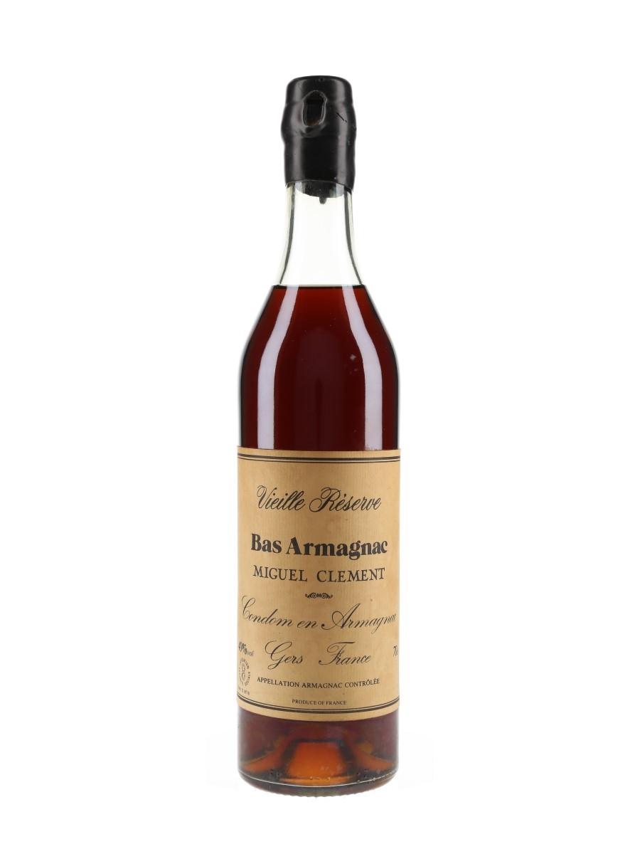 Miguel Clement Vieille Reserve Bas Armagnac  70cl / 40%