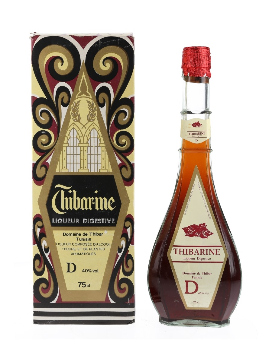 Thibarine Liqueur Digestive Bottled 1980s 75cl / 40%