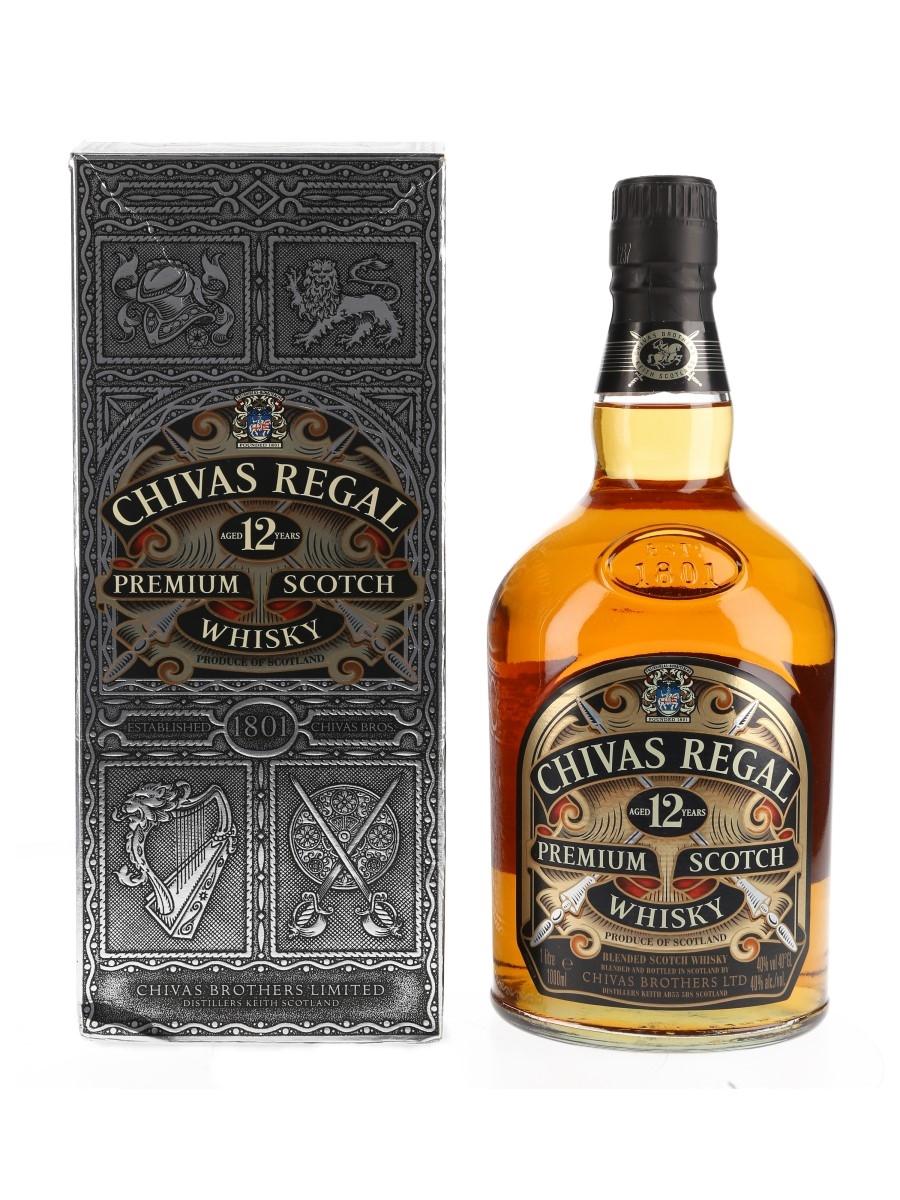 Chivas Regal 12 Year Old Bottled 2000s 100cl / 40%