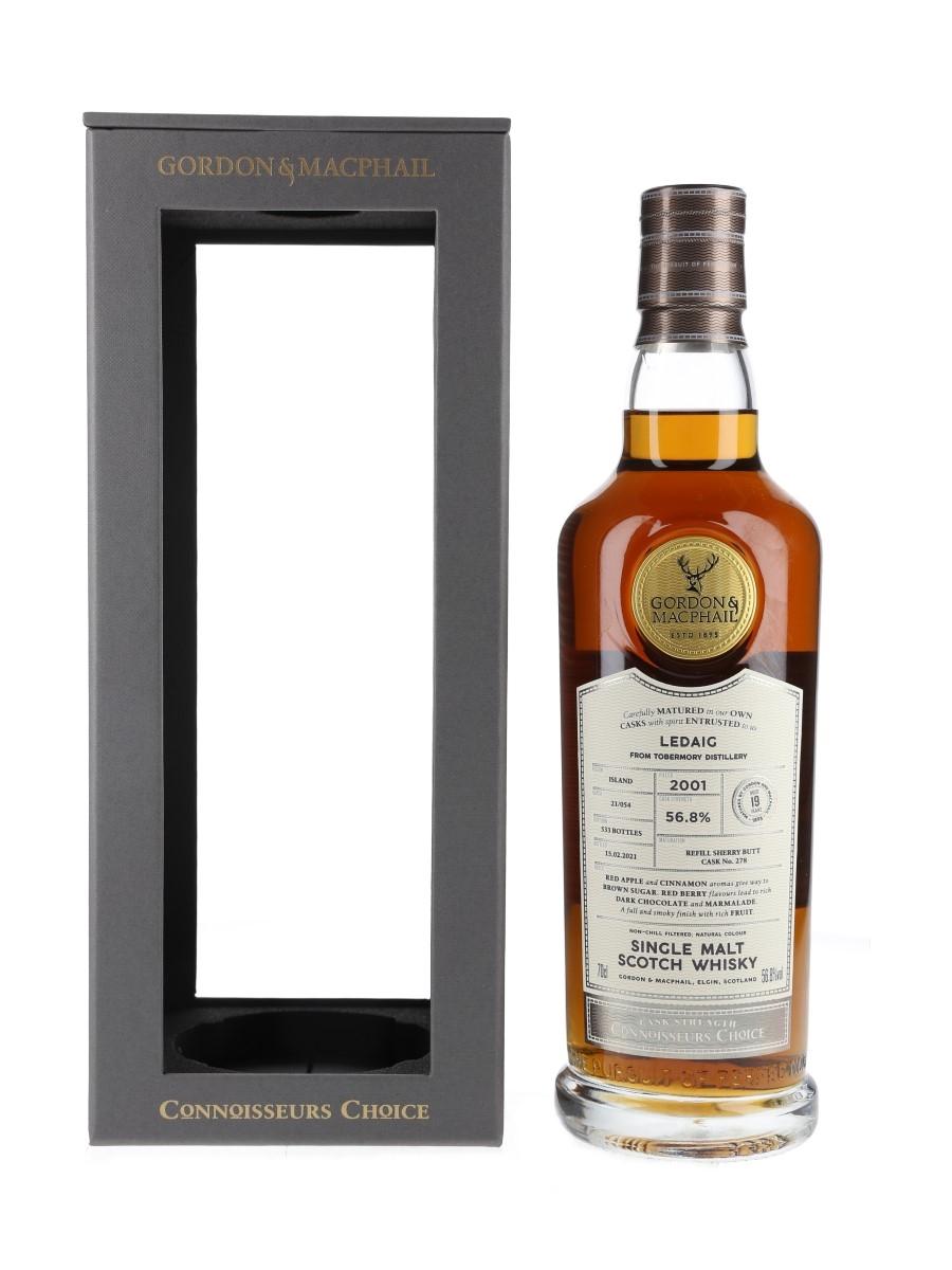 Ledaig 2001 19 Year Old Connoisseurs Choice Bottled 2021 - Gordon & MacPhail 70cl / 56.8%