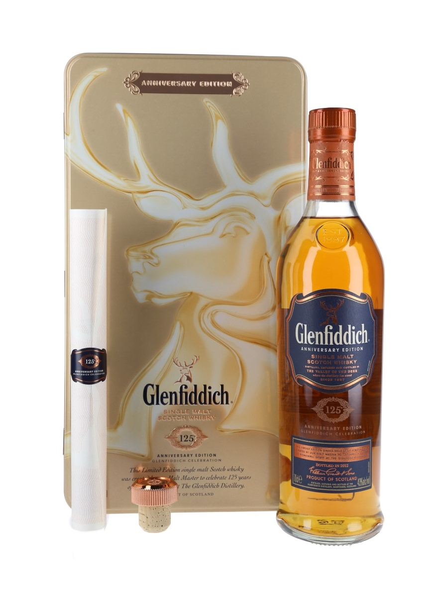 Glenfiddich 125th Anniversary Edition Bottled 2012 70cl / 43%