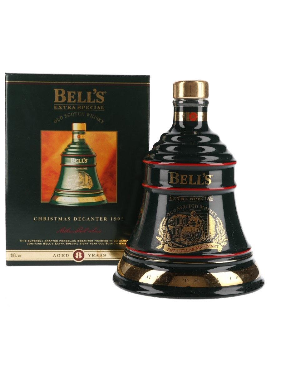 Bell's Christmas 1995 Ceramic Decanter The Art Of Distilling No.6 70cl / 40%