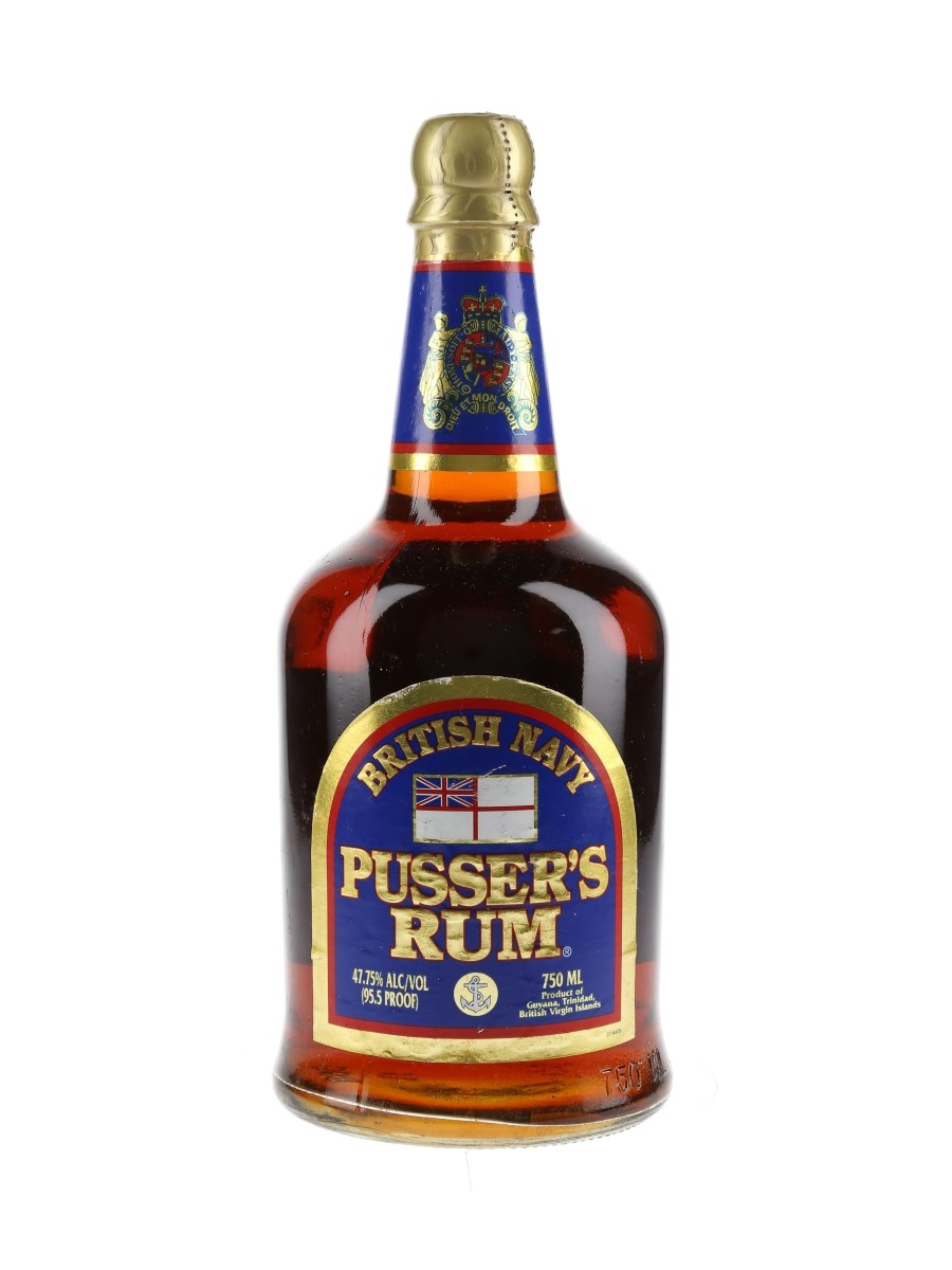 Pusser's British Navy Rum Bottled 1990s 75cl / 47.75%
