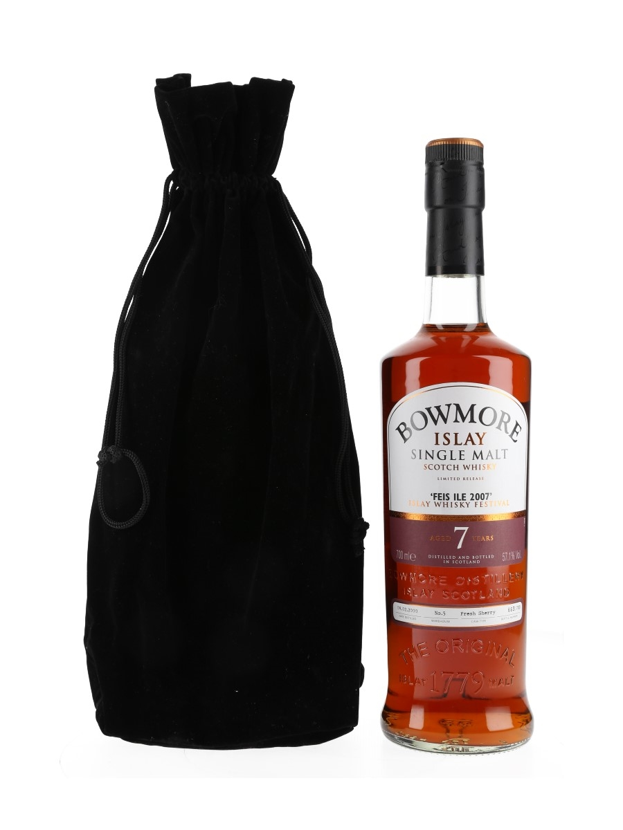 Bowmore 2000 7 Year Old Feis Ile 2007 70cl / 57.1%