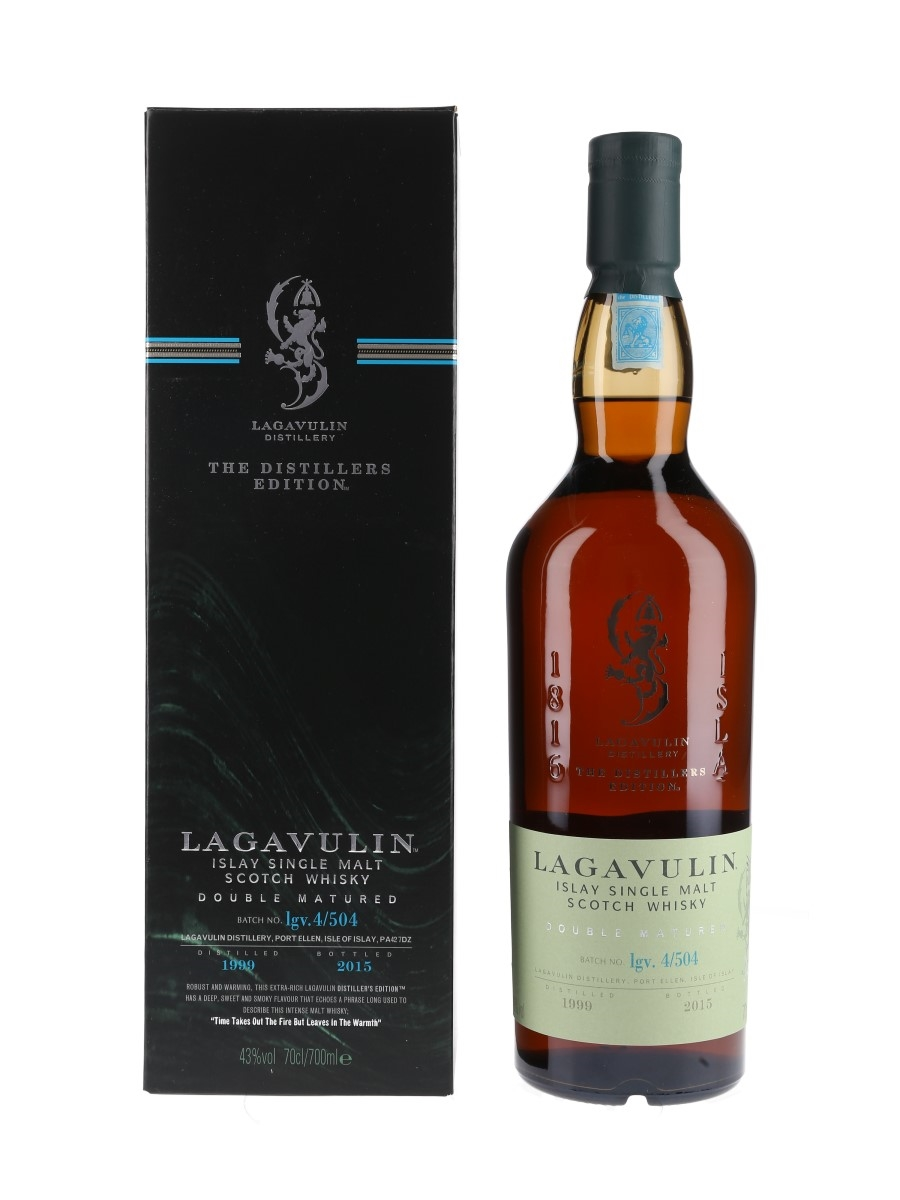 Lagavulin 1999 Distillers Edition Bottled 2015 70cl / 43%