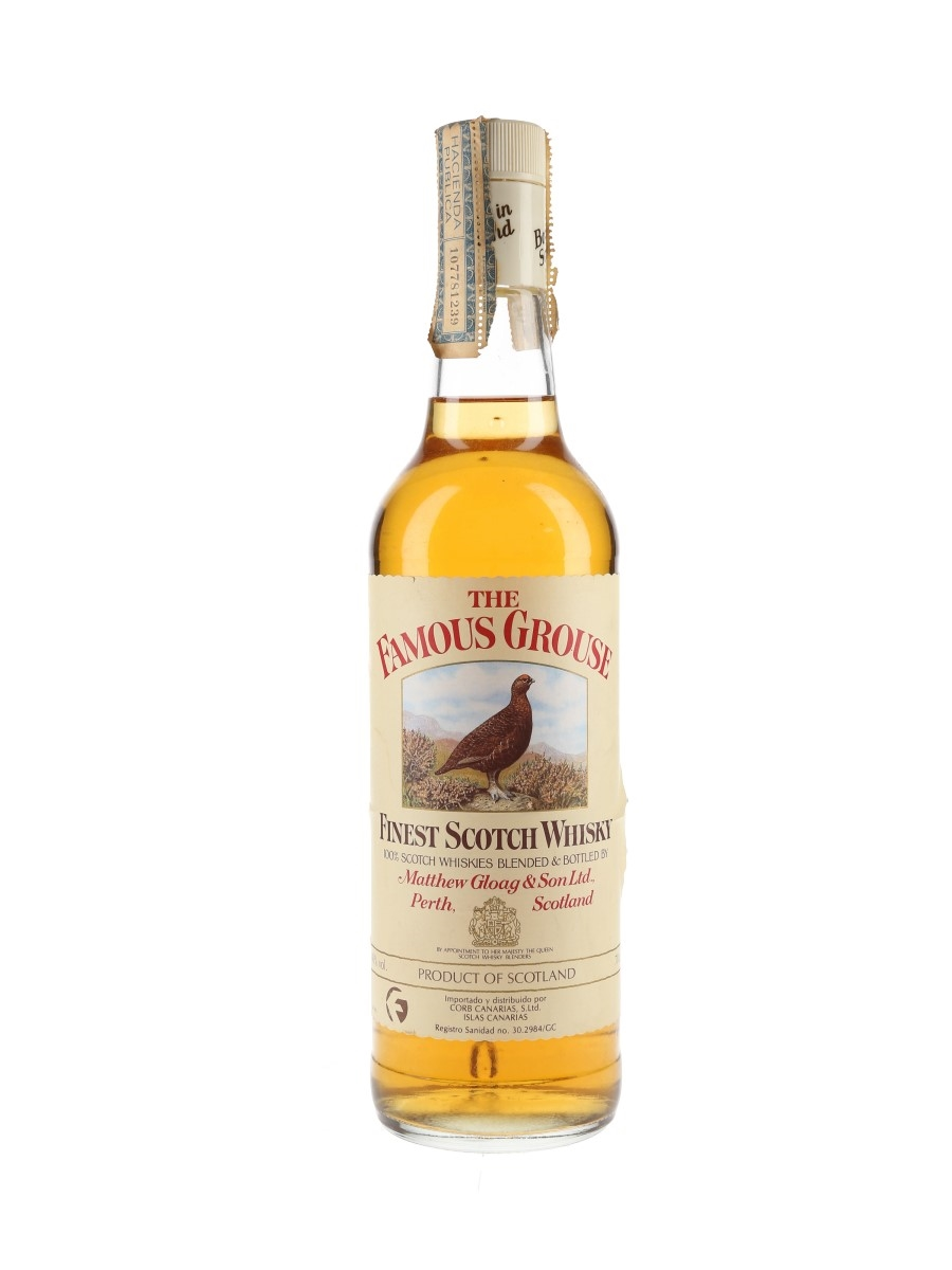 Famous Grouse Bottled 1990s - Corb Canarias 70cl / 40%