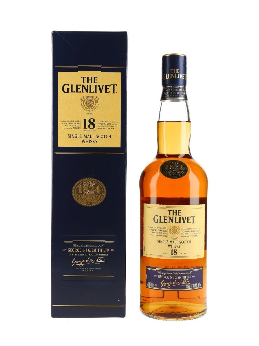 Glenlivet 18 Year Old Bottled 2010 70cl / 43%
