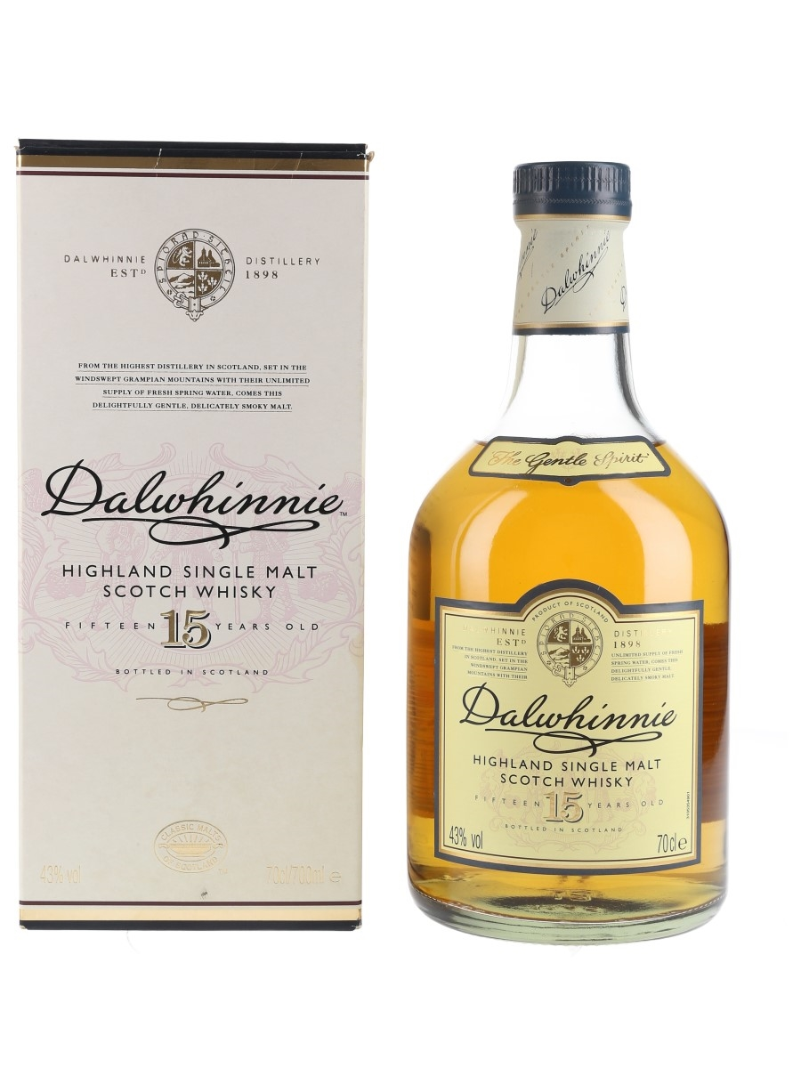 Dalwhinnie 15 Year Old Bottled 2010s 70cl / 43%