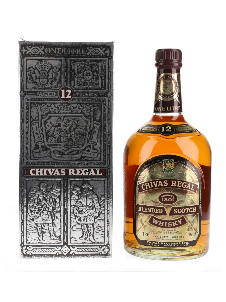 Chivas Regal 12 Year Old Bottled 1980s 100cl / 43%
