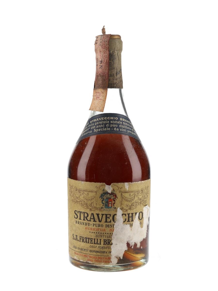 Branca Stravecchio Brandy Bottled 1970s 75cl / 42%