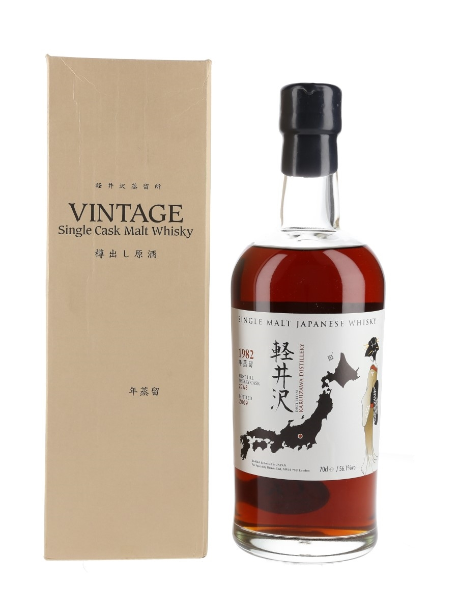 Karuizawa 1982 Cask #2748 Bottled 2009 - Number One Drinks Company Limited 70cl / 56.1%