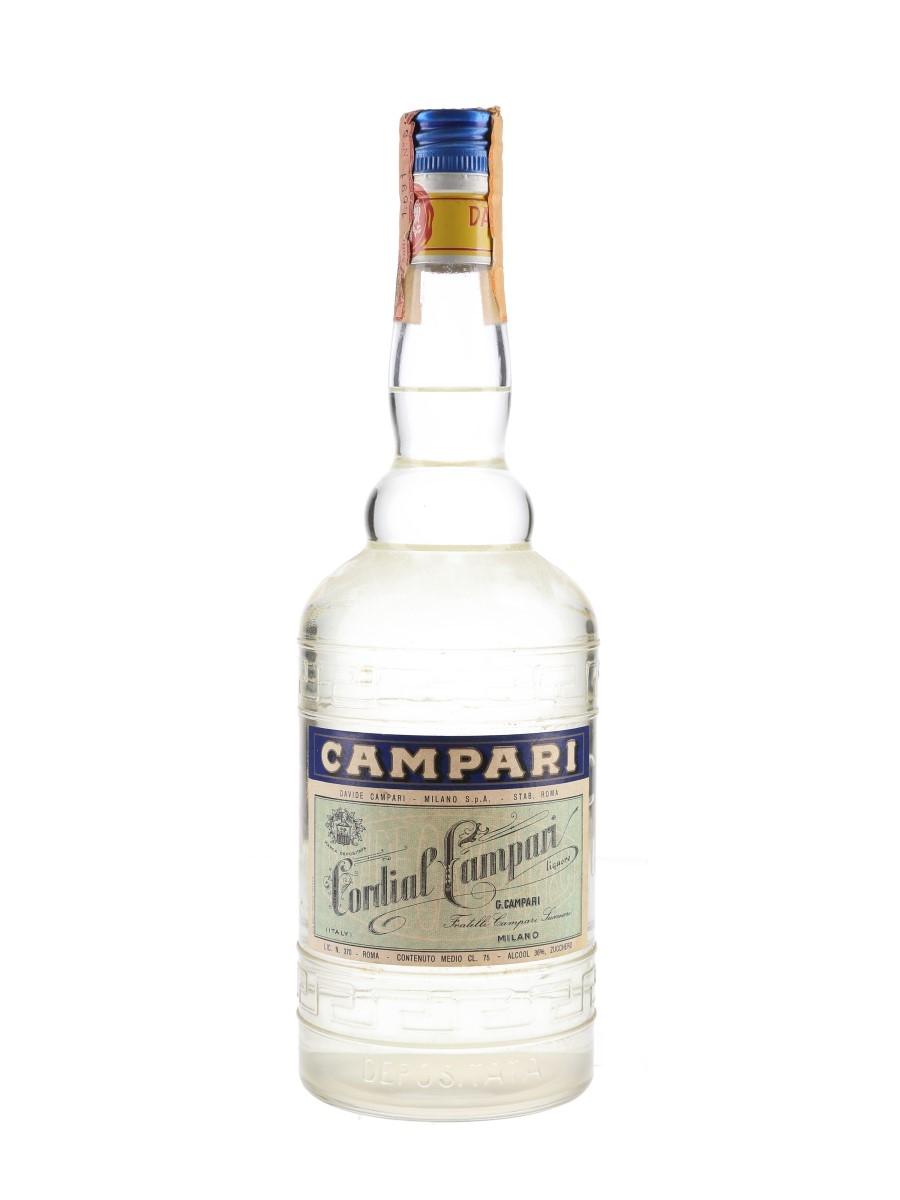 Campari Cordial Bottled 1970s 75cl / 36%