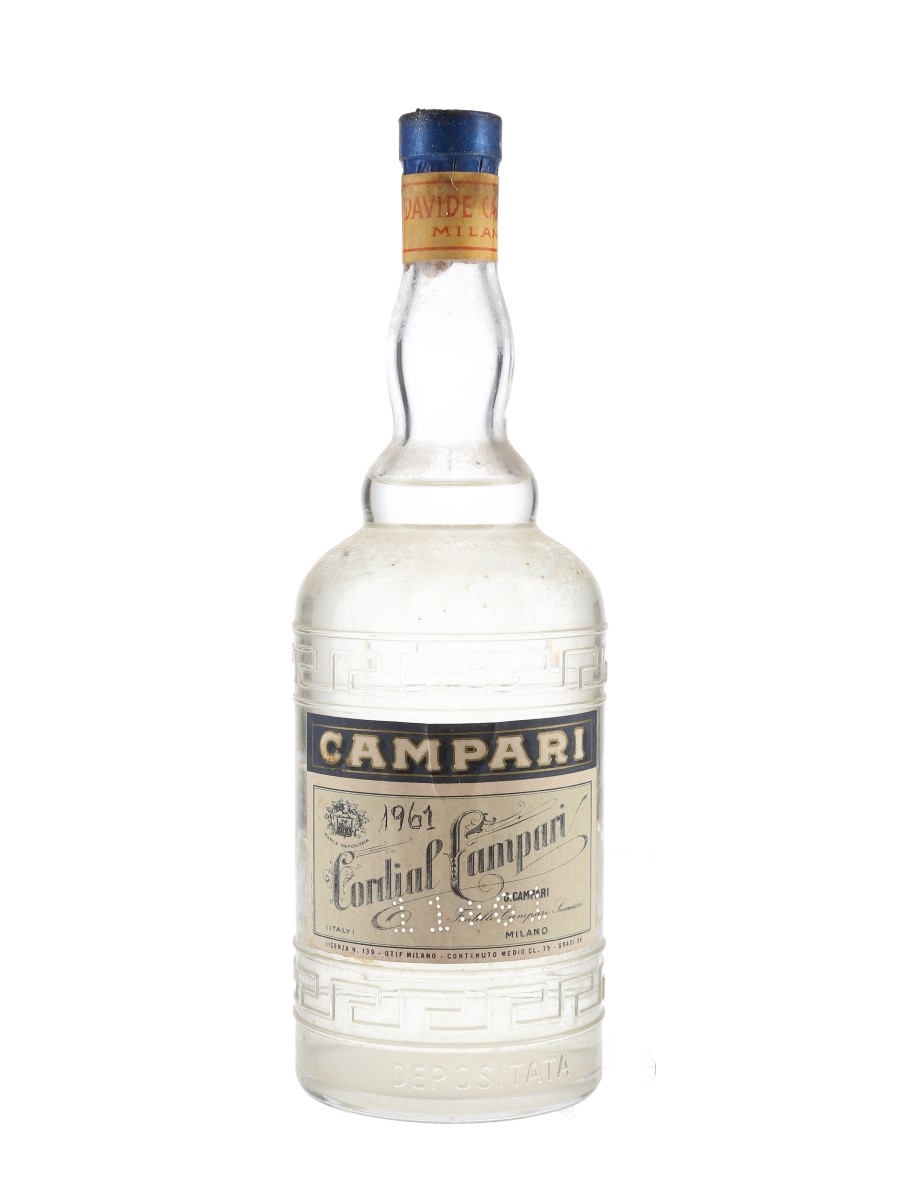 Campari Cordial Bottled 1960s 75cl / 36%