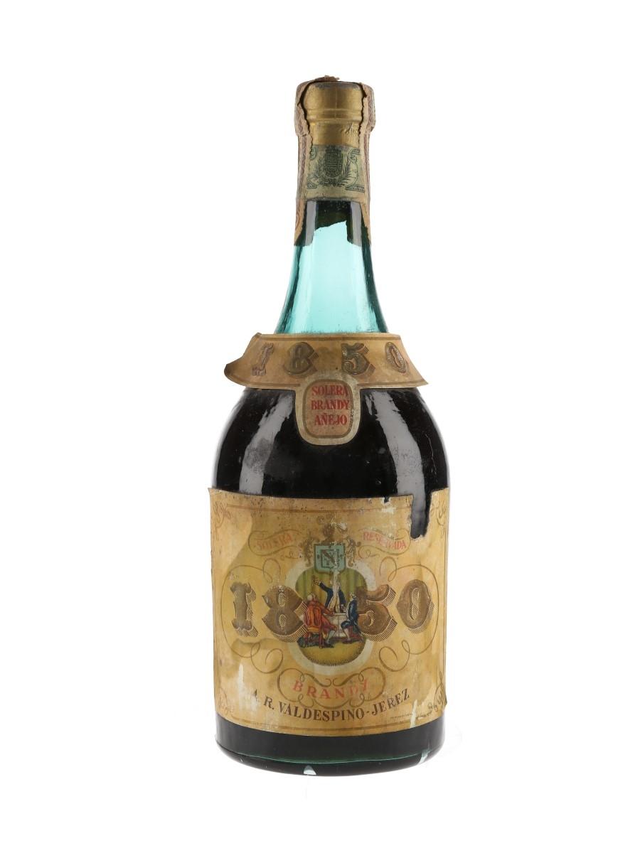 1850 Brandy Bottled 1960s - Valdespino-Jerez 70cl