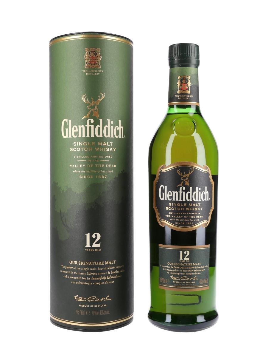 Glenfiddich 12 Year Old Old Presentation 70cl / 40%