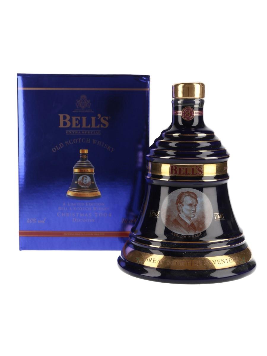 Bell's Christmas 2004 Ceramic Decanter 8 Year Old - John Logie Baird 70cl / 40%