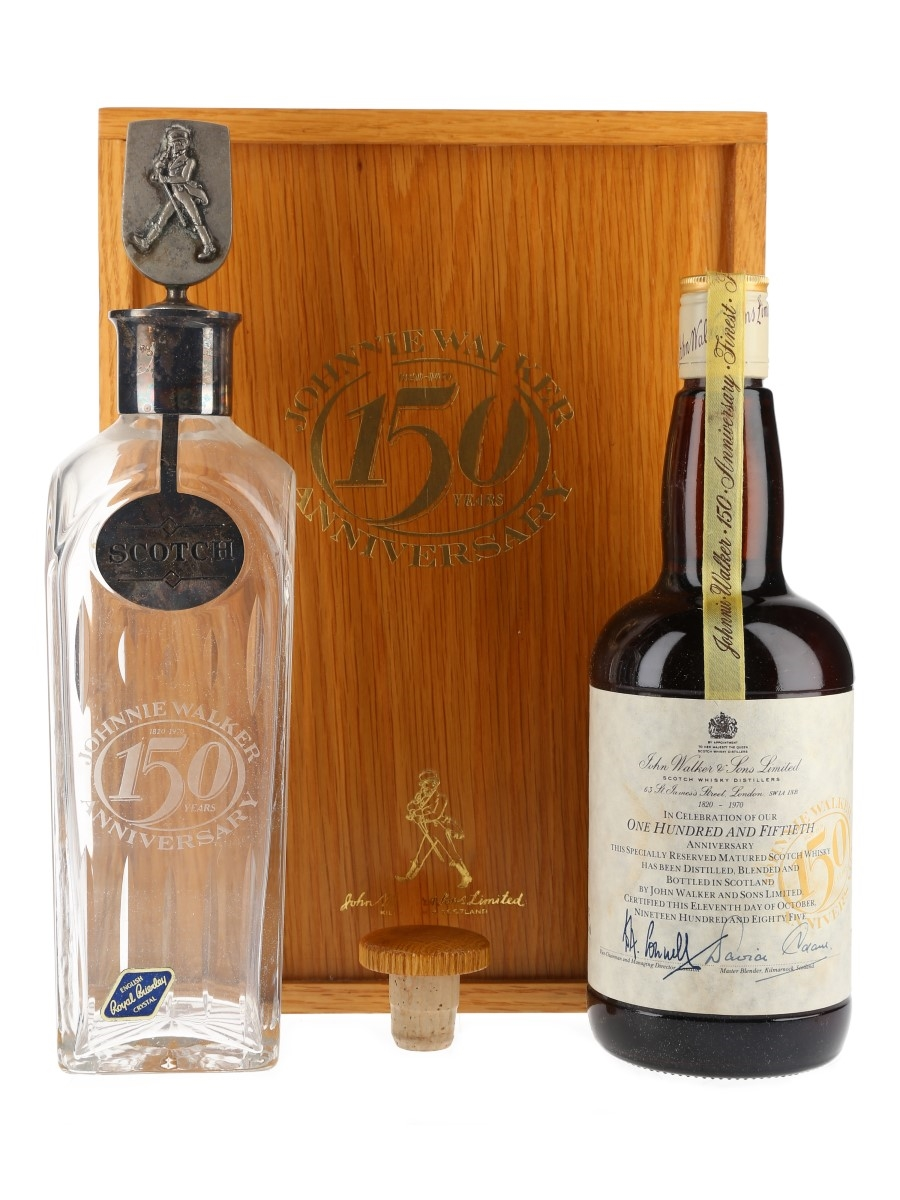 Johnnie Walker 150th Anniversary Bottled 1985 75cl / 43%