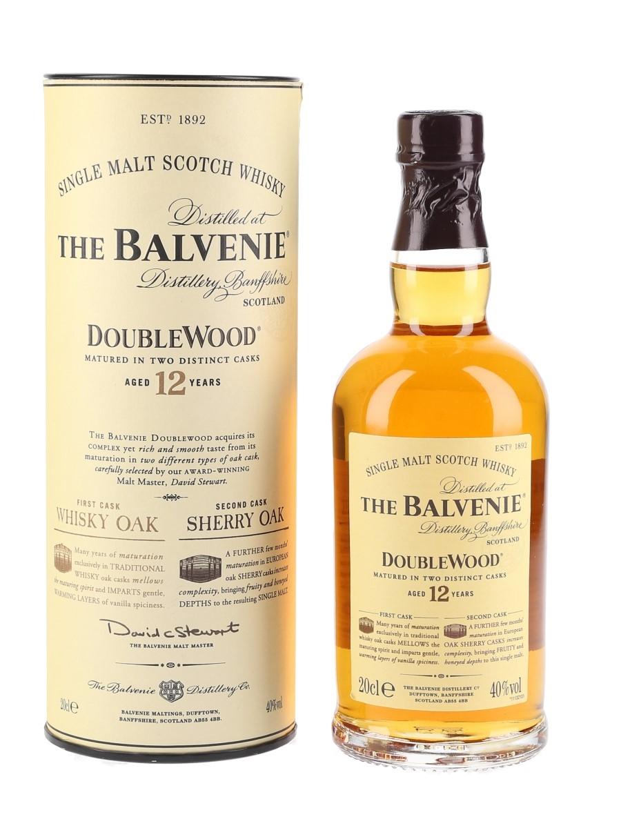 Balvenie 12 Year Old Doublewood  20cl / 40%