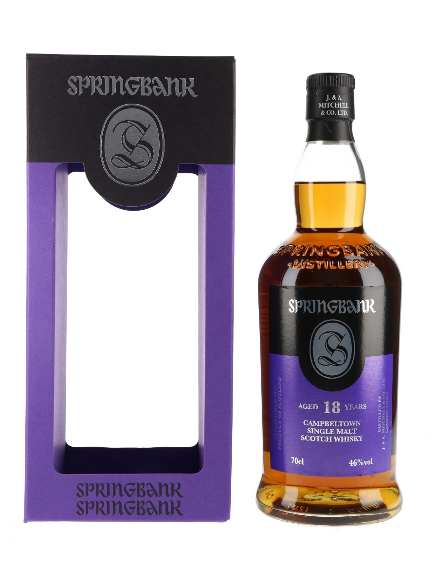 Springbank 18 Year Old Bottled 2020 70cl / 46%