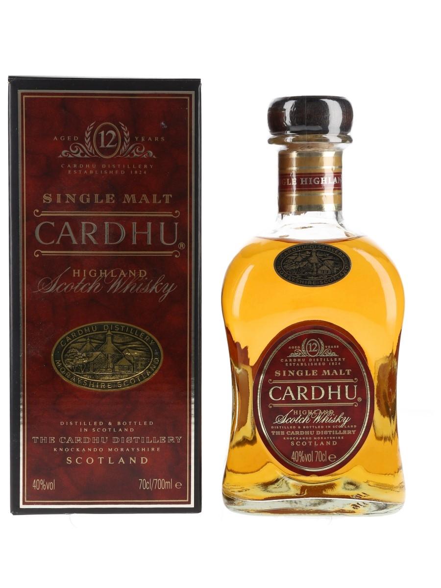 Cardhu 12 Year Old  70cl / 40%