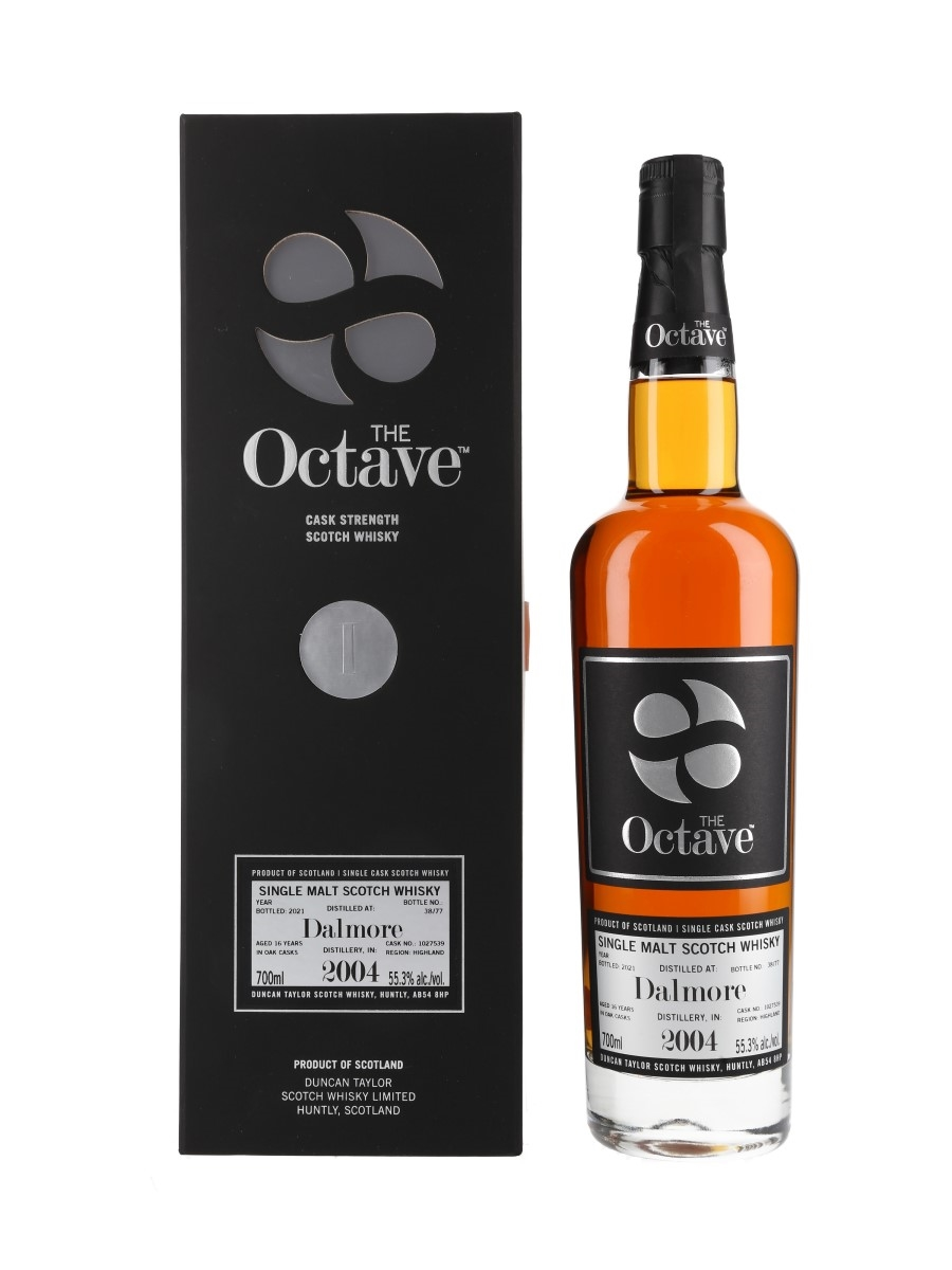 Dalmore 2004 16 Year Old The Octave Bottled 2021 70cl / 55.3%