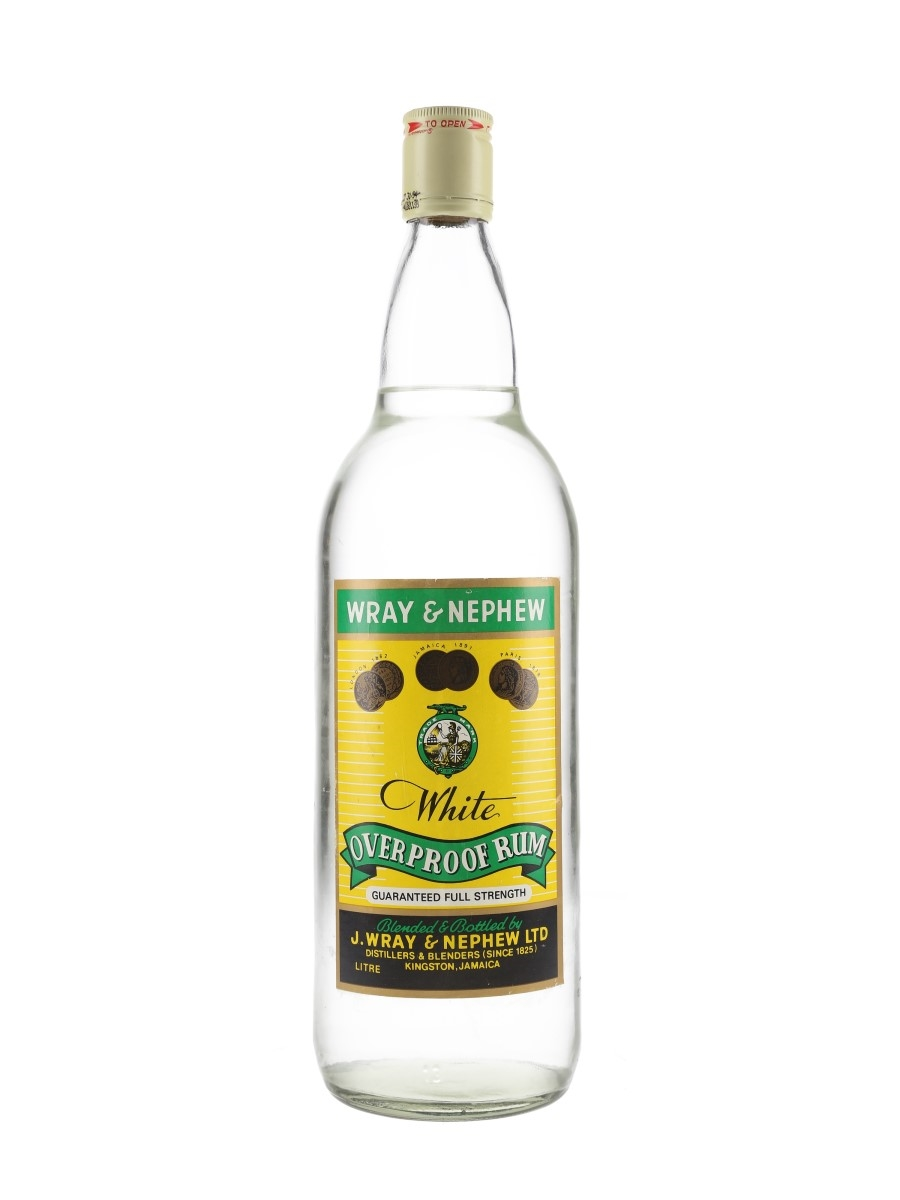 Wray & Nephew White Overproof Rum Bottled 1990s 100cl