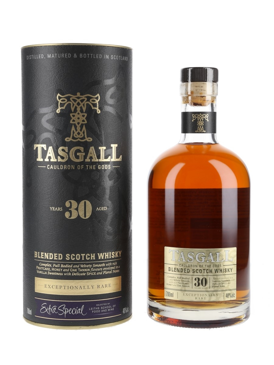 Tasgall 30 Year Old Cauldron Of The Gods  70cl / 40%
