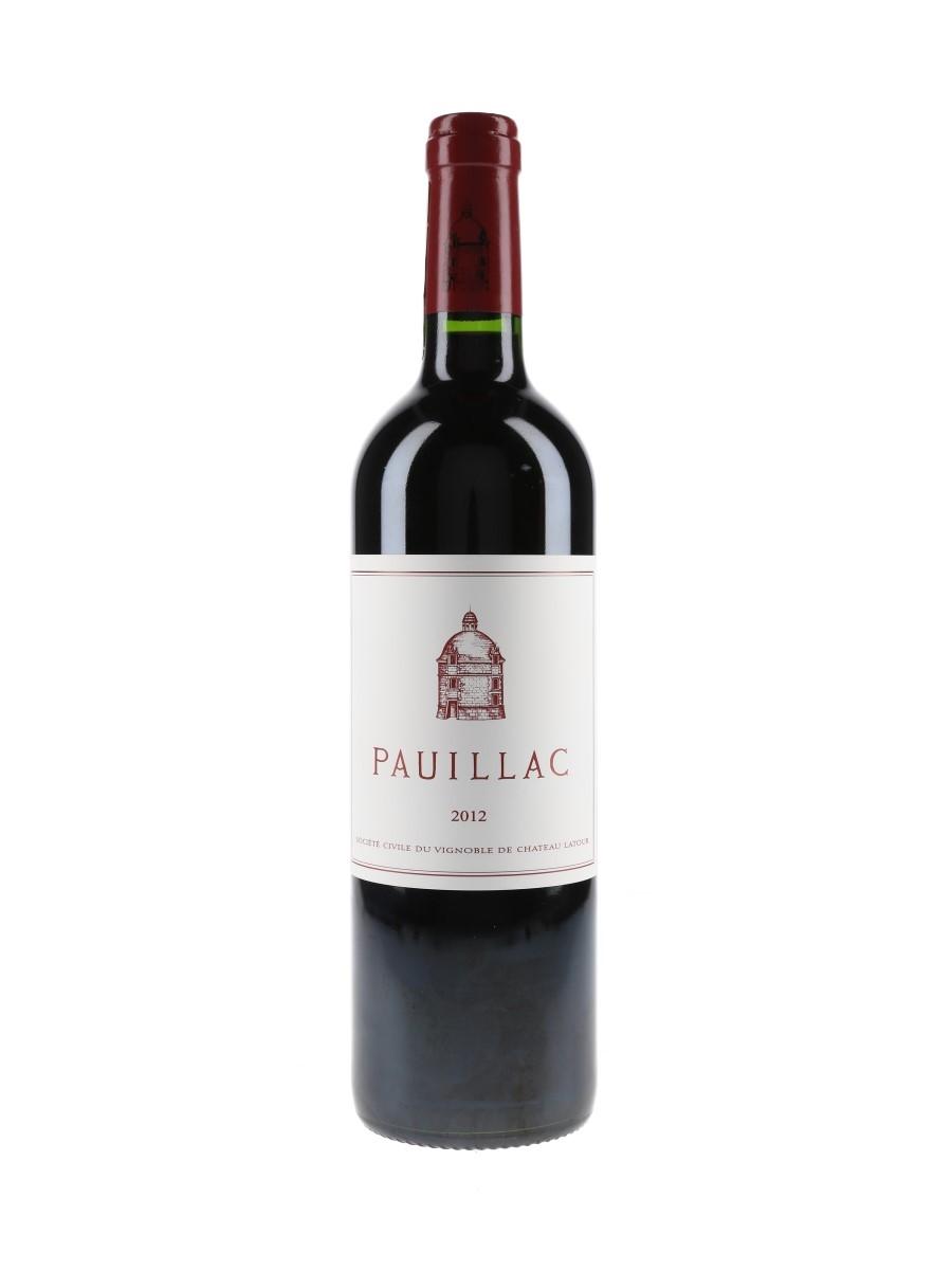 Pauillac 2012 Chateau Latour 75cl / 13%