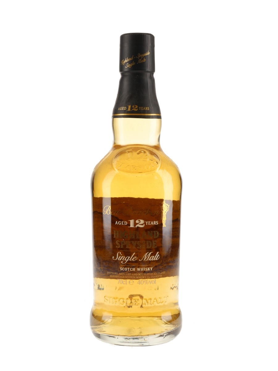 Ben Bracken 12 Year Old Clydesdale Scotch Whisky Co. 70cl / 40%