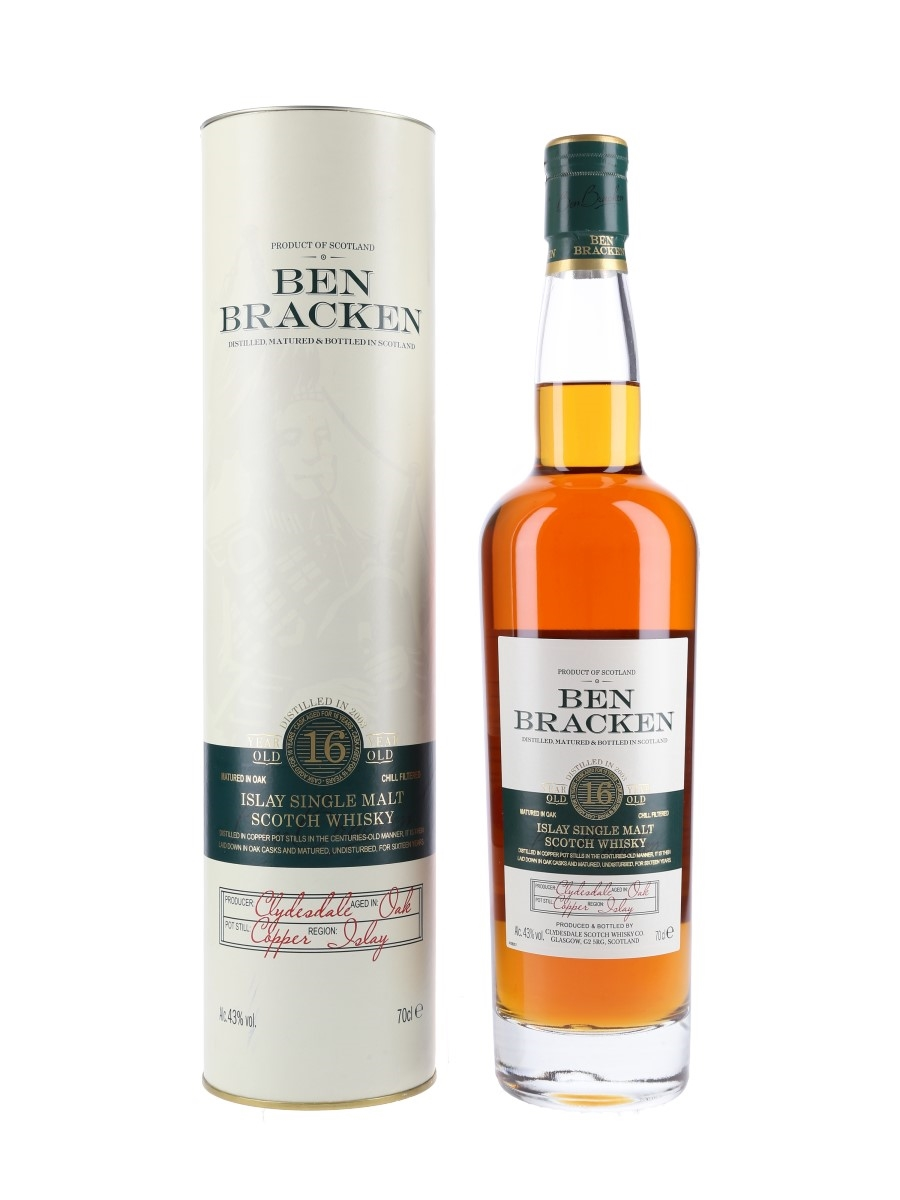 Ben Bracken 16 Year Old Clydesdale Scotch Whisky Co 70cl / 43%