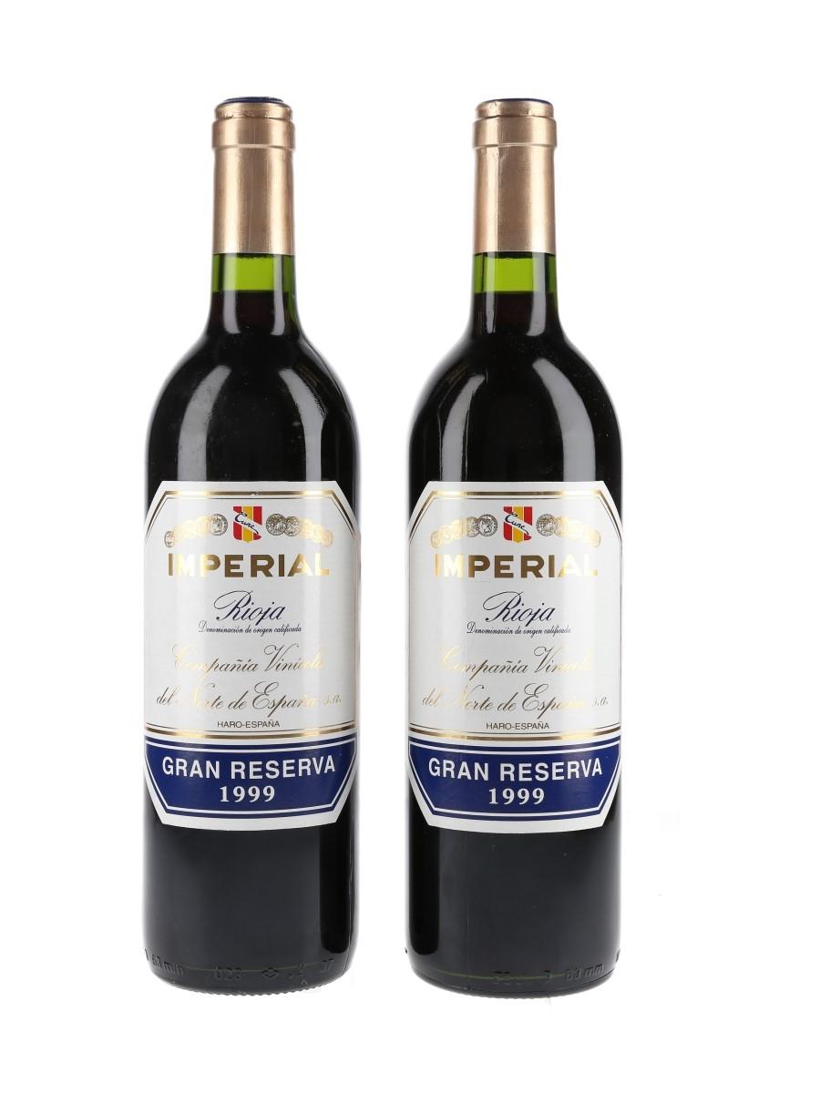 CVNE Imperial Gran Reserva 1999 Rioja 2 x 75cl / 13%