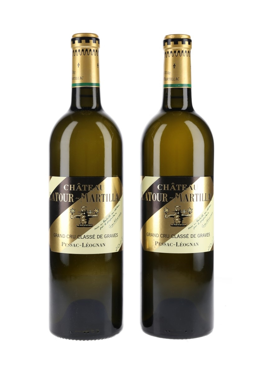 Chateau Latour Martillac 2015 Blanc Pessac Leognan 2 x 75cl / 13.5%