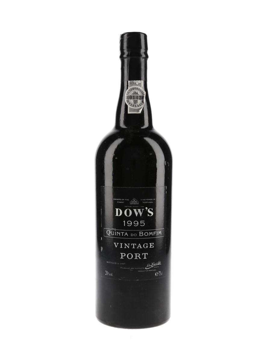 Dow's 1995 Vintage Port Quinta Do Bomfim 75cl / 20%
