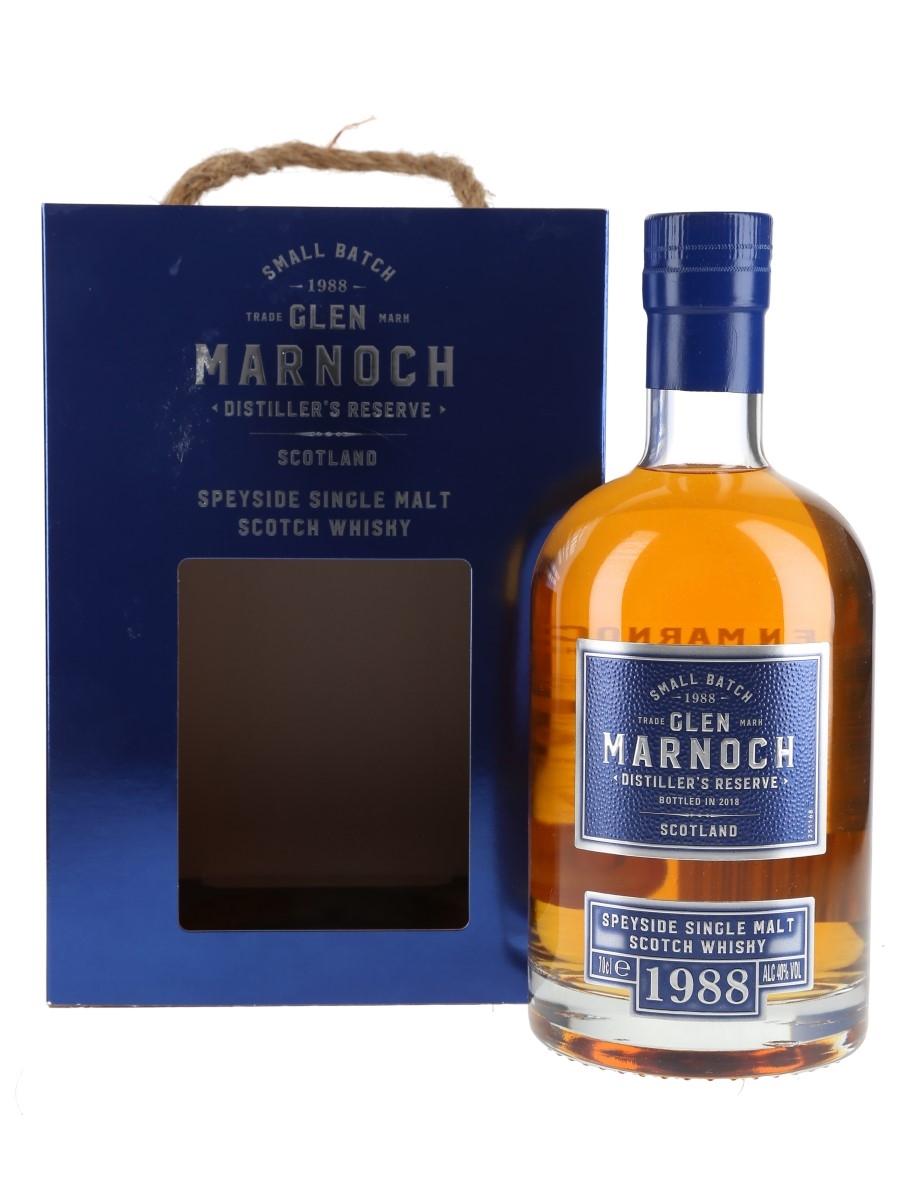 Glen Marnoch 1988 Distiller's Reserve Bottled 2018 70cl / 40%