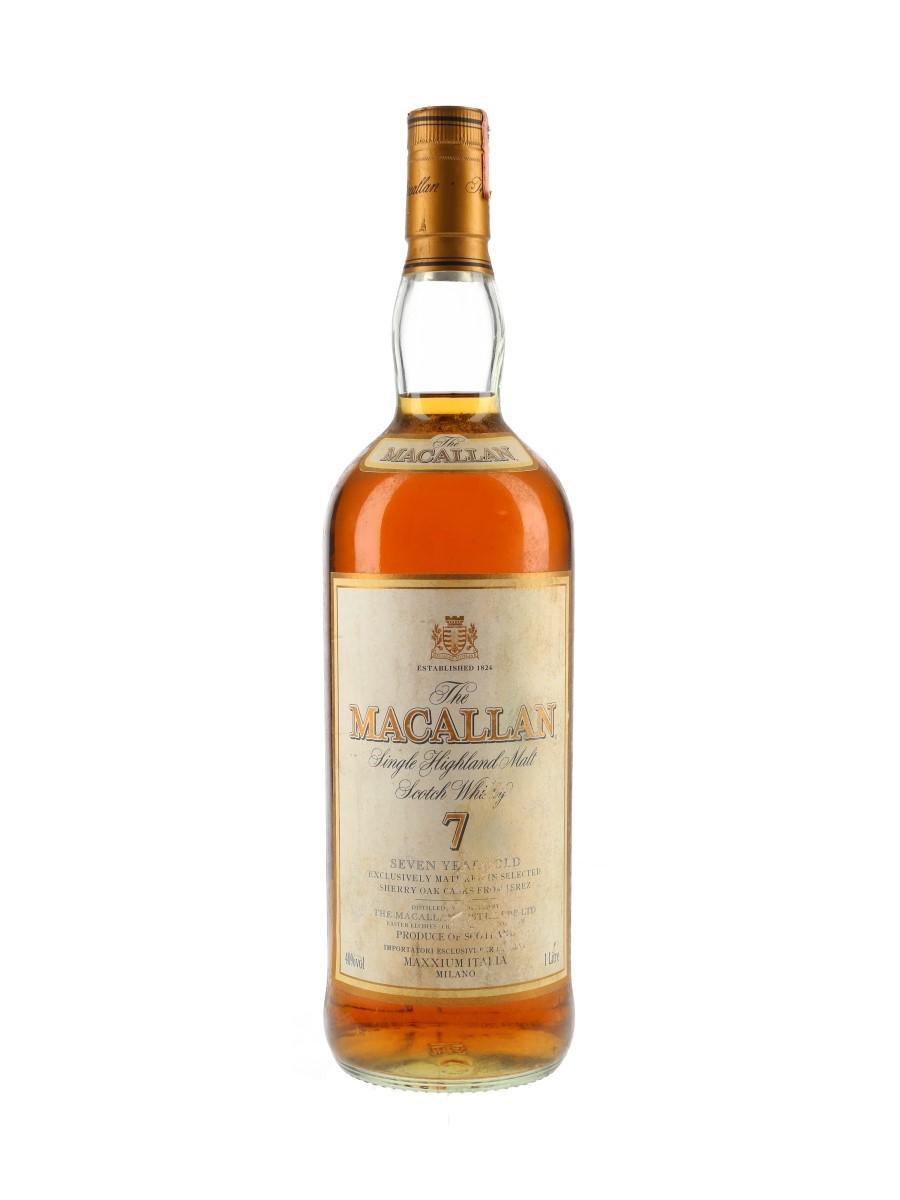 Macallan 7 Year Old Bottled 2000s - Maxxium Italia 100cl / 40%